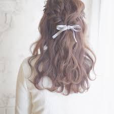 セミロングさん向け簡単かわいいを叶えるヘアアレンジ特集 Arine