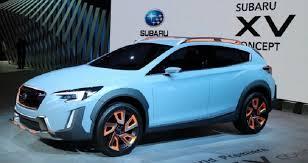 subaru new models 2018. fine new 2018 subaru xv crosstrek concept intended subaru new models w