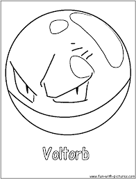 Small Picture Electrode Pokemon Coloring Pages olegandreevme