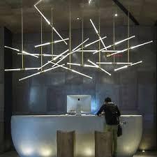 office pendant light. Image Is Loading Modern-Acrylic-LED-Lights-Tube-Suspension-Pendant-Lamp- Office Pendant Light C