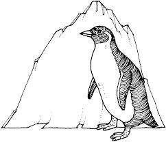 Printable Penguin Coloring Pages Coloringmecom