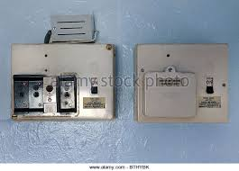 electric fuse stock photos & electric fuse stock images alamy Old Fuse Box Trip Switch old fuse boxes stock image Main Fuse Box House