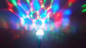 The Range Disco Light Bulb Sharper Image Party Light Rotating Disco Bulb