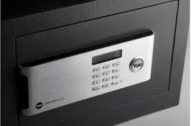 Yale Safe Digital Lockers YSM-250-EG1 - <b>Small Size Safe</b> Locker ...