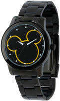 disney watches for men shopstyle disney mickey mouse mens black bracelet watch w001989
