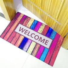 colorful welcome mat. Unique Colorful Welcome Mats Colorful Rubber Carpet For Indoor Or Outdoor Use Antislip  Toilet Doormats Keeps For Mat R