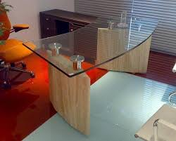 office table glass. Plain Glass Modern Table With Glass Top And Office E