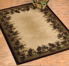 Kitchen Floor Mats Washable Rustic Wildlife Rugs Including Moose And Bear Rugs Black Forest