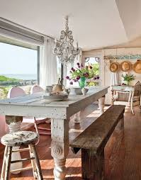 beach dining room sets. Modren Room Coastal Dining Space In A Cottage Style Home With Rustic Farm Table On Beach Dining Room Sets O