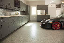 diy garage makeover floor