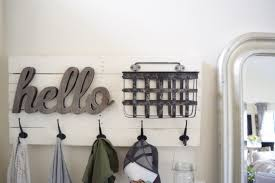 Diy Wall Mounted Coat Rack With Shelf Furniture How To Build A Wall Mounted Coat Rack Erin Spain As 59