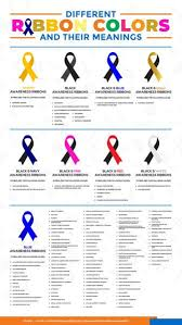 Awareness Ribbon Chart Monarch Graphics Design
