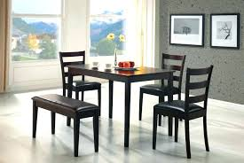 dark brown dining table and chairs kitchen dining table and chairs set black and brown dining