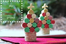 these are such cute little trees and such a fun and easy project to make diy wine cork