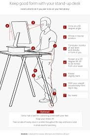 standing desk posture. Contemporary Desk With Standing Desk Posture A