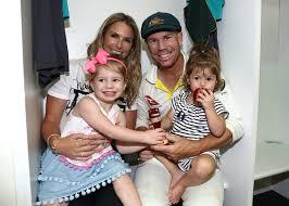 David Warner, Ivy Warner, Candice Warner, Indi Warner - David Warner and Ivy  Warner Photos - Australia v England - Third Test: Day 5 - Zimbio