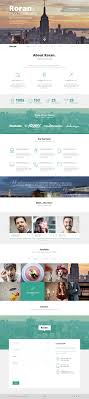 one page website template roran the free one page psd website template lunar templates