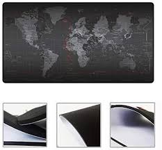 Extended Super Large <b>World Map</b> Design Keyboard Mouse Pad ...