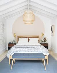 Minimalist bedroom furniture Simple Pinterest Mydomaine 27 Minimalist Bedroom Ideas To Inspire You To Declutter Mydomaine
