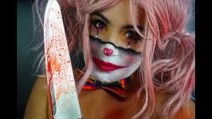 creepy clown makeup tutorial
