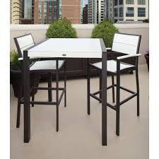 outdoor bar table and chairs melbourne. outdoor bar table and chairs melbourne surf city textured bronze 3 piece patio set with classic white sets m
