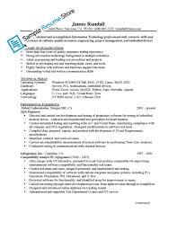 Qa Engineer Resume Professional Portrayal Senior Quality Sample 13
