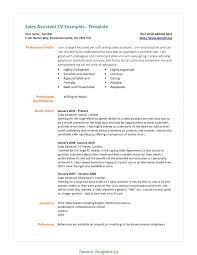 sales assistant cv example best resume sample for store assistant cv resume australia example