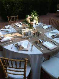 Round Table Settings For Weddings Rustic Wedding Tables Are Just Amazing