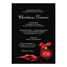 Holiday Dinner Invitation Template Elegant Christmas Dinner Party Invitation Template