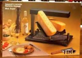 ... Professional raclette grill TTM cheese melter
