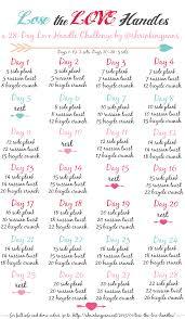 lose the love handles a free 28 day love handle shrinking challenge workoutcalendar fitnesschallenge