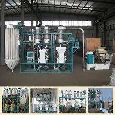 Flour Milling Plant Design Hot Item 2018 New Design Wheat Maize Corn Flour Milling Machinery For Africa Market 10t