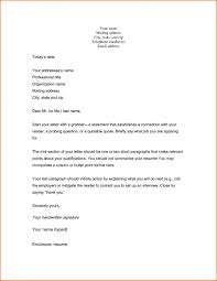 Cover Letter Examples Short