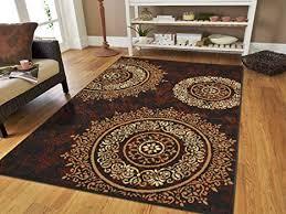 brown area rugs contemporary luxury century contemporary area rug 5x8 black rugs modern rugs for living room 5x7 black brown amazing deal on latitude run