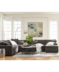 Radley 5 Piece Fabric Chaise Sectional Sofa Created For Macy S