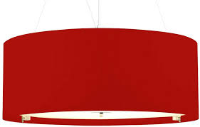 large drum lamp shades for chandelier red pendant light shade modern 6 14