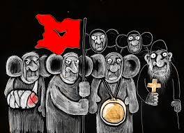 """""""Ганьба """"дідам"""", які воювали проти борців за свободу України"""", - на акції, організованій """"Опоблоком"""" у Сумах, відбулися зіткнення - Цензор.НЕТ 272"""