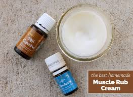 best homemade muscle rub cream from recipes with essential oils
