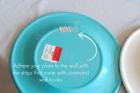fresh ideas how to hang plates on the wall and easy decor without hurting them