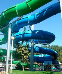 curved slide curved slide for water parks tube black hole tecnopiscine