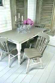 shabby chic dining table and 6 chairs kitchen round set room neat sets tables shabby chic dining