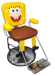italica yellow man hair styling chair with seat belt for children s hair salons or pediatric dentist offices in stock fast salon equipment
