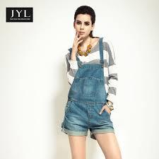 Jyl Jeans Cowboy Casual Denim Jumpsuit Worksuit Women Plus Size