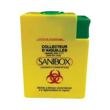sharp disposal. sharps disposal box \u2013sanibox 250 ml sharp