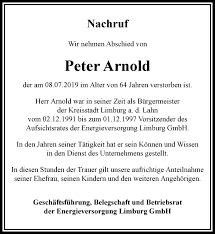 Traueranzeigen von Peter Arnold | trauer-rheinmain.de