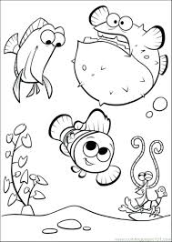 Finding Nemo Coloring Pages Pdf Free Printable Unique Pictures Ele