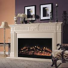 dimplex holbrook electric fireplace mantel package in burnished
