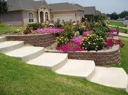 sloping front garden design ideas photo 12