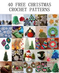 Free Christmas Crochet Patterns Beauteous 48 Free Christmas Crochet Patterns Crochet Arcade