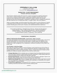 Perfect Resume Template Awesome Unique A Sample Resume For Job